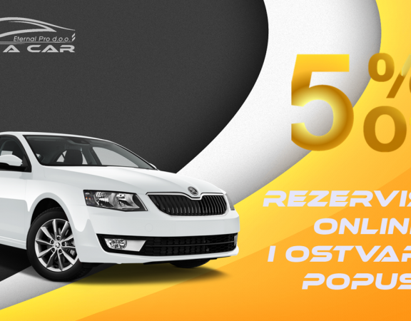 Rent a Car Tuzla - Online Reservation